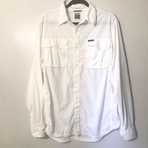 Columbia Titanium Omni-Dri Button Down Shirt
